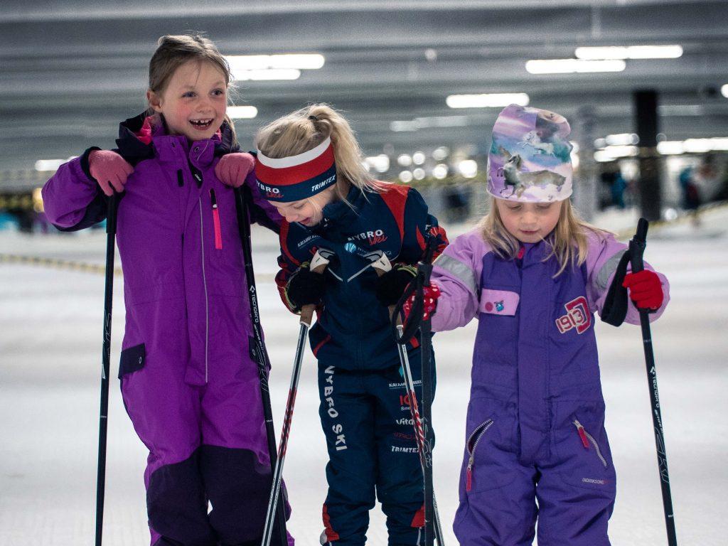 Höstlovsläger för barn - Skidhall för längdskidåkning i Göteborg.