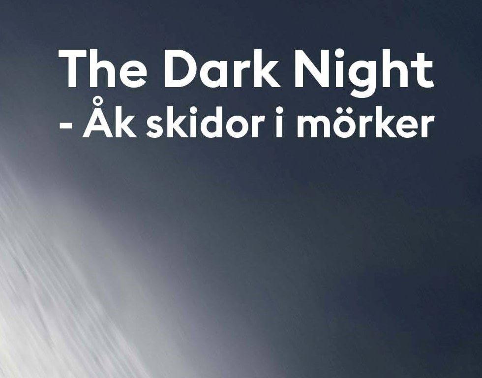 Provåkning inför The Dark Night Race(s) - Skidhall för längdskidåkning i Göteborg.