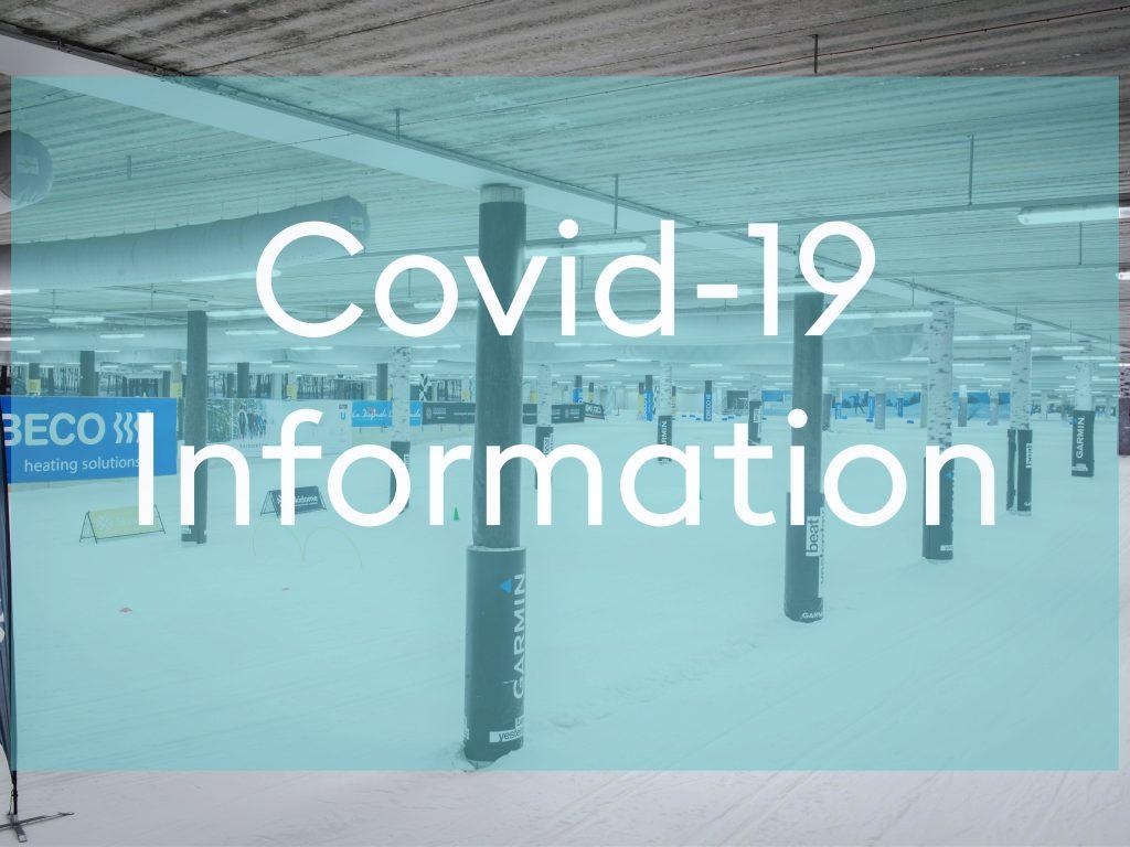 Uppdaterad Coronainformation - Skidhall för längdskidåkning i Göteborg.