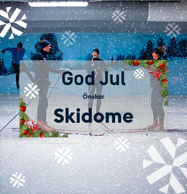 Adventserbjudande nr 4 – 25% på årskort - Skidhall för längdskidåkning i Göteborg.