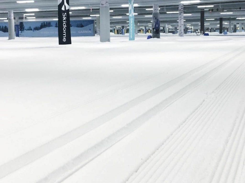 Här ligger snön kvar! - Skidhall för längdskidåkning i Göteborg.